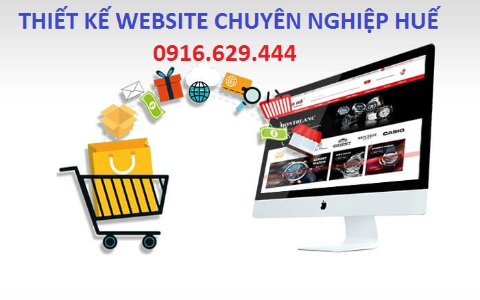thiet ke website Hue